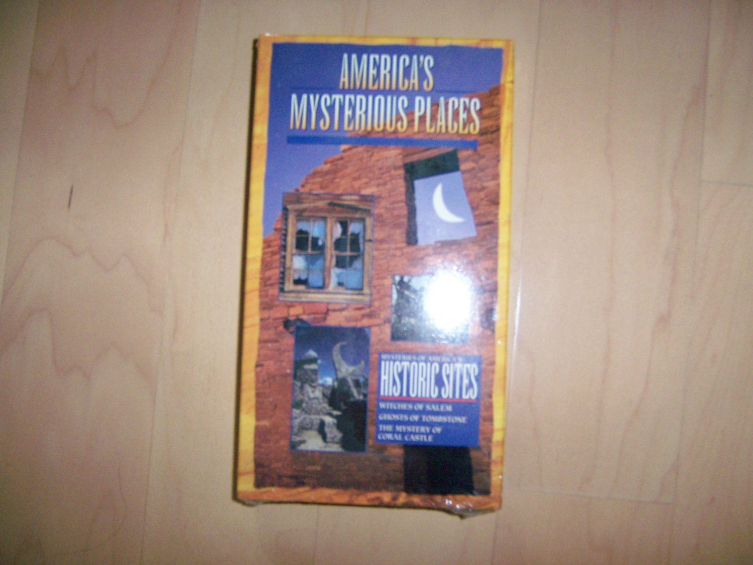 VHS America's Mysterious Places BNK809