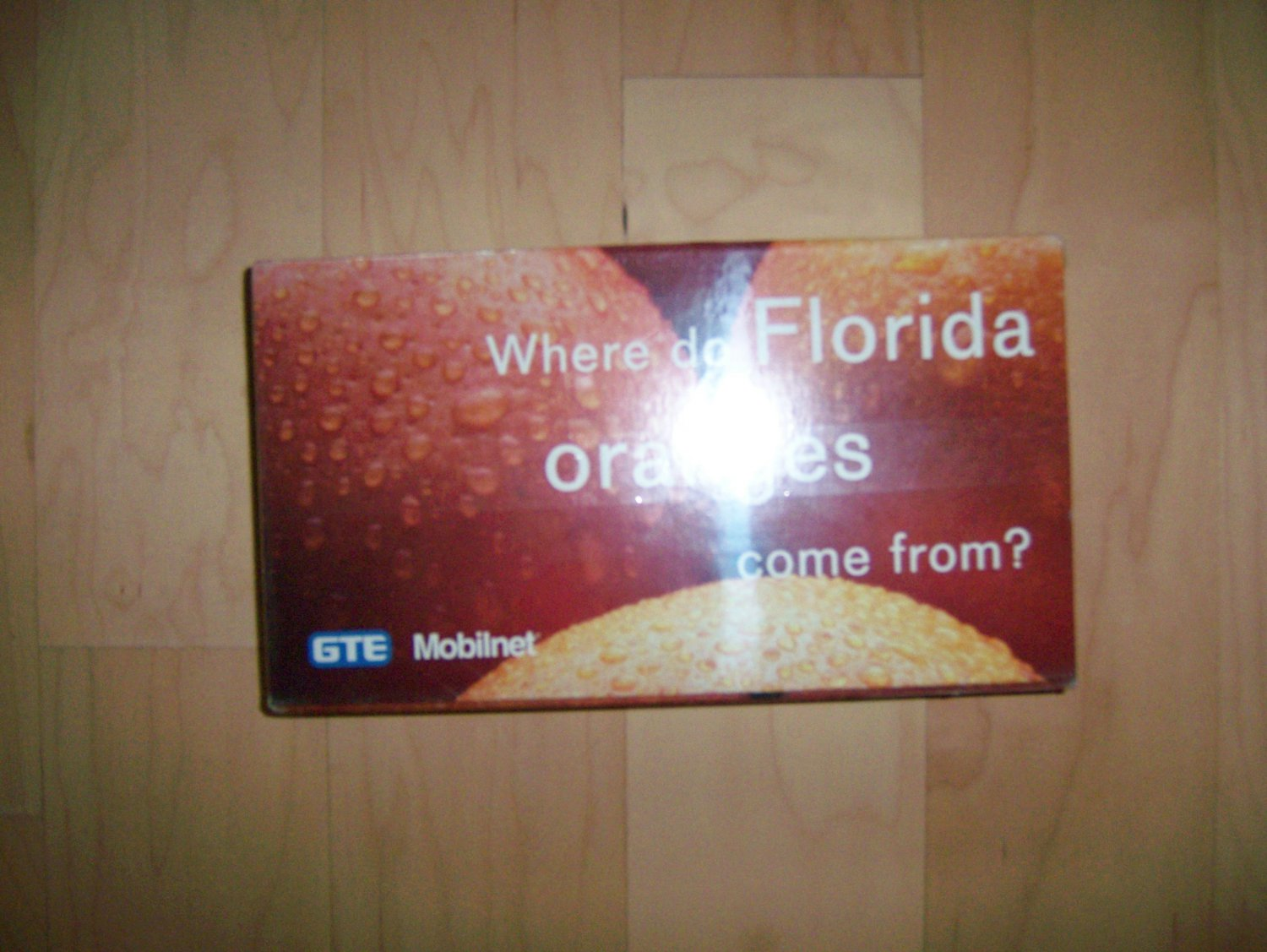 VHS Where Do Florida Oranges Come From BNK812