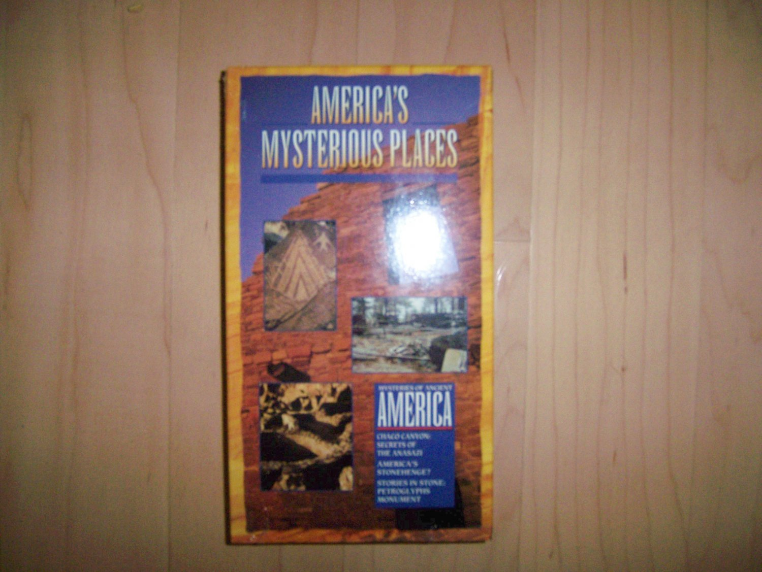 VHS America's  Mysteries Of Ancient America BNK816