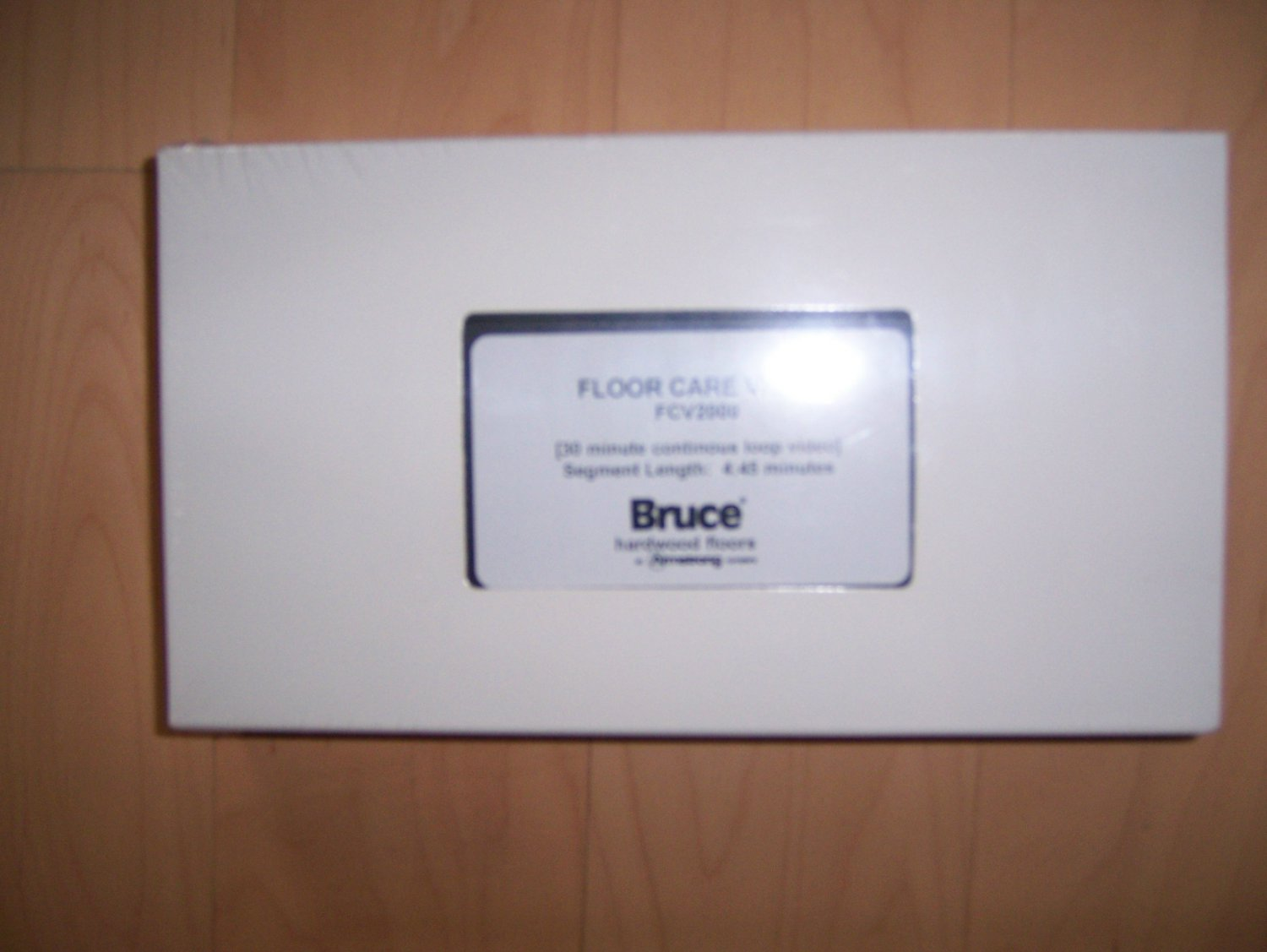 VHS Bruce Floor Care by Armstrong BNK822