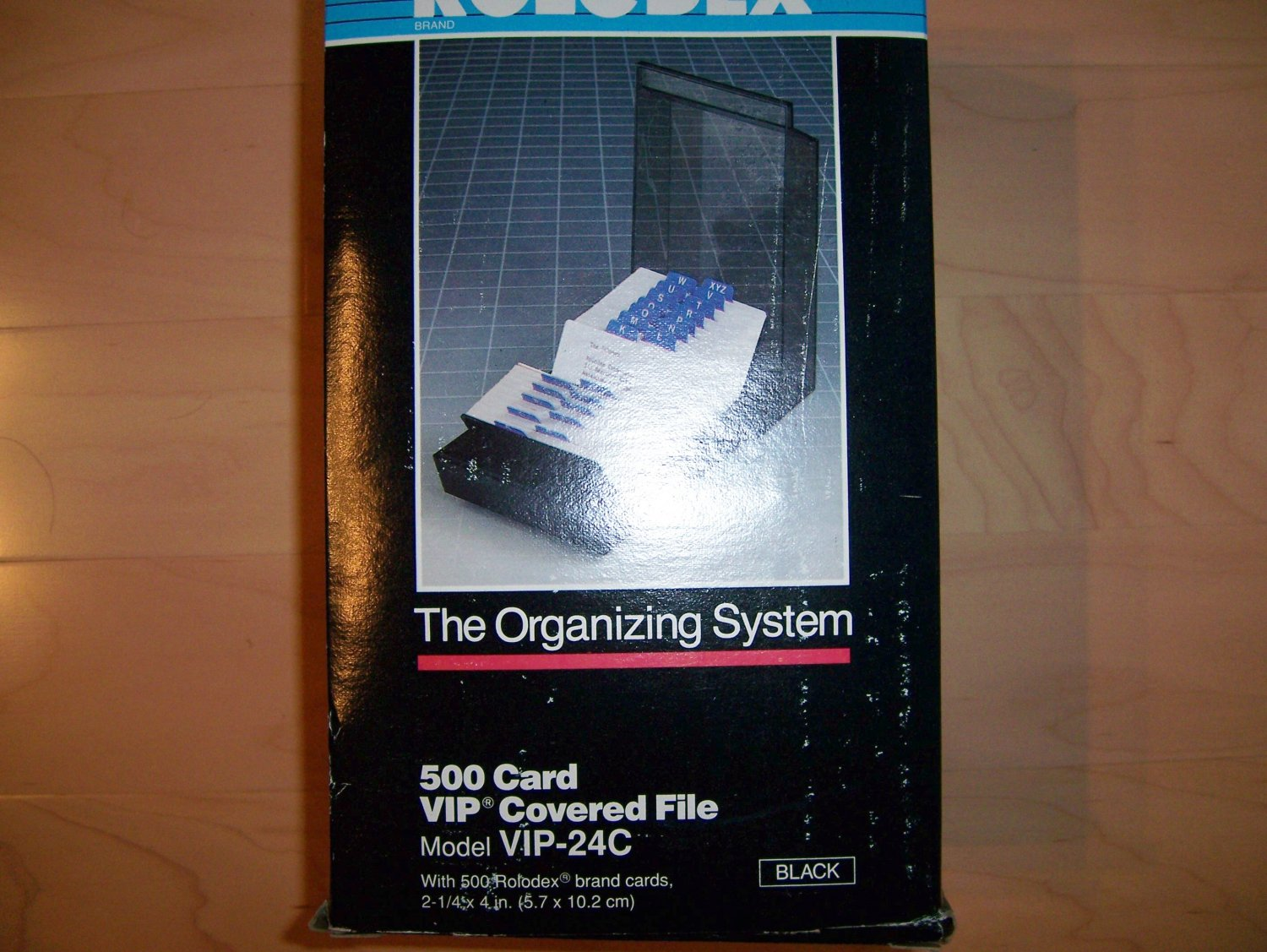 Rolodex 500 Card VIP Covered File Cabinet  BNK831