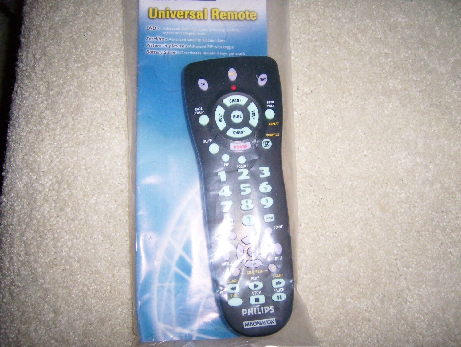 Remote Universal  Control By Phipps PM525   BNK905