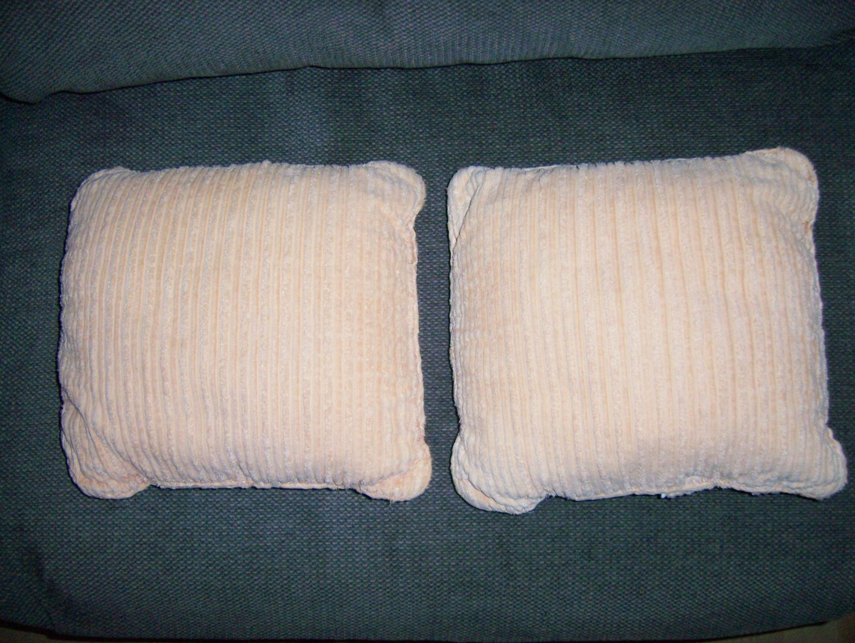 "Pillow Set Of Two 12"" Light Gold BNK925"