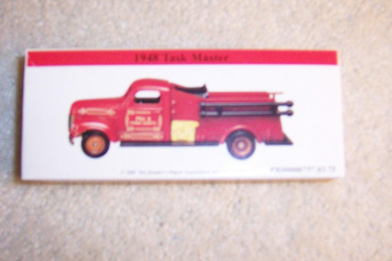 Miniture Fire Truck 1948 Task Master BNK941