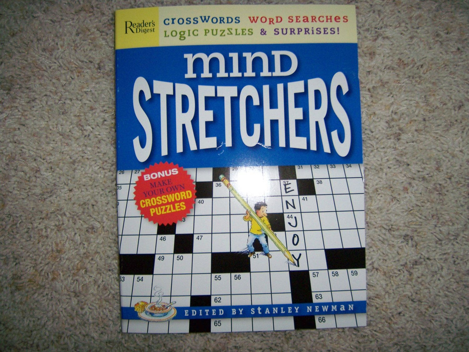 Mind Stretchers  Crossword & Word Puzzles Etc. BNK949
