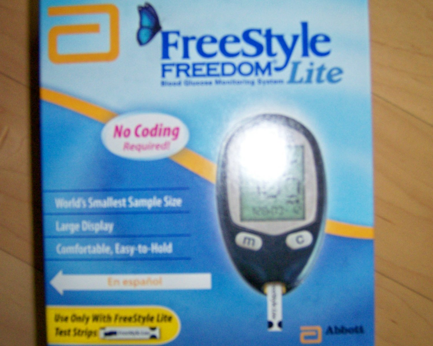 Blood Glucose Monitering Life System No Coding BNK980
