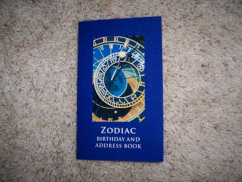 Zodiac/Address/Phone/Notes Pocket Purse Book  BNK992