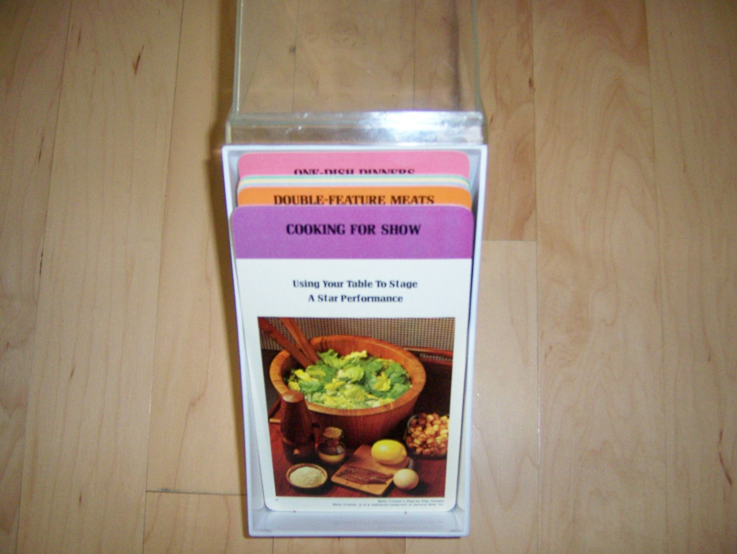 Recipe Case With Selection Of Recipes  BNK1011