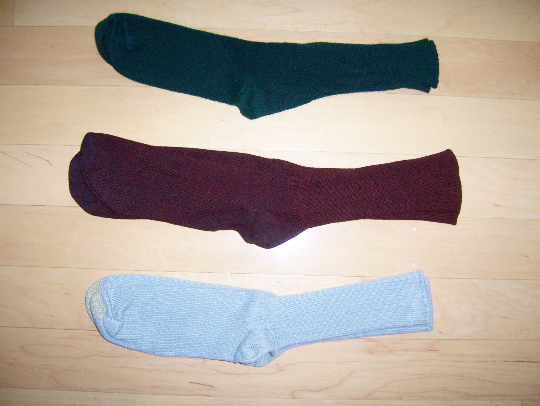 Men's Socks 10-13 Green-Grey-Marronne BNK1032