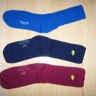 Men's Socks 10-13 Cotton  Blue-Rose-Navy BNK1035