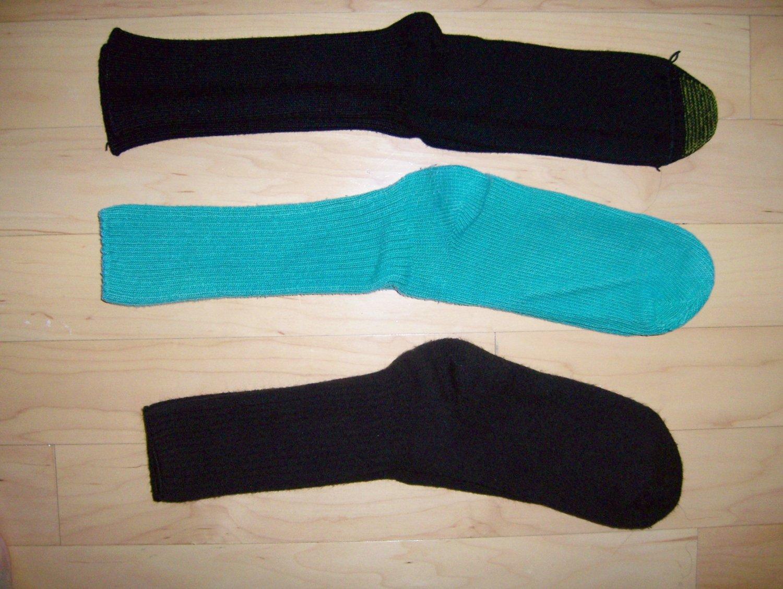 Men's Socks Cotton 10-13  Brown-Green-Black  BNK1039