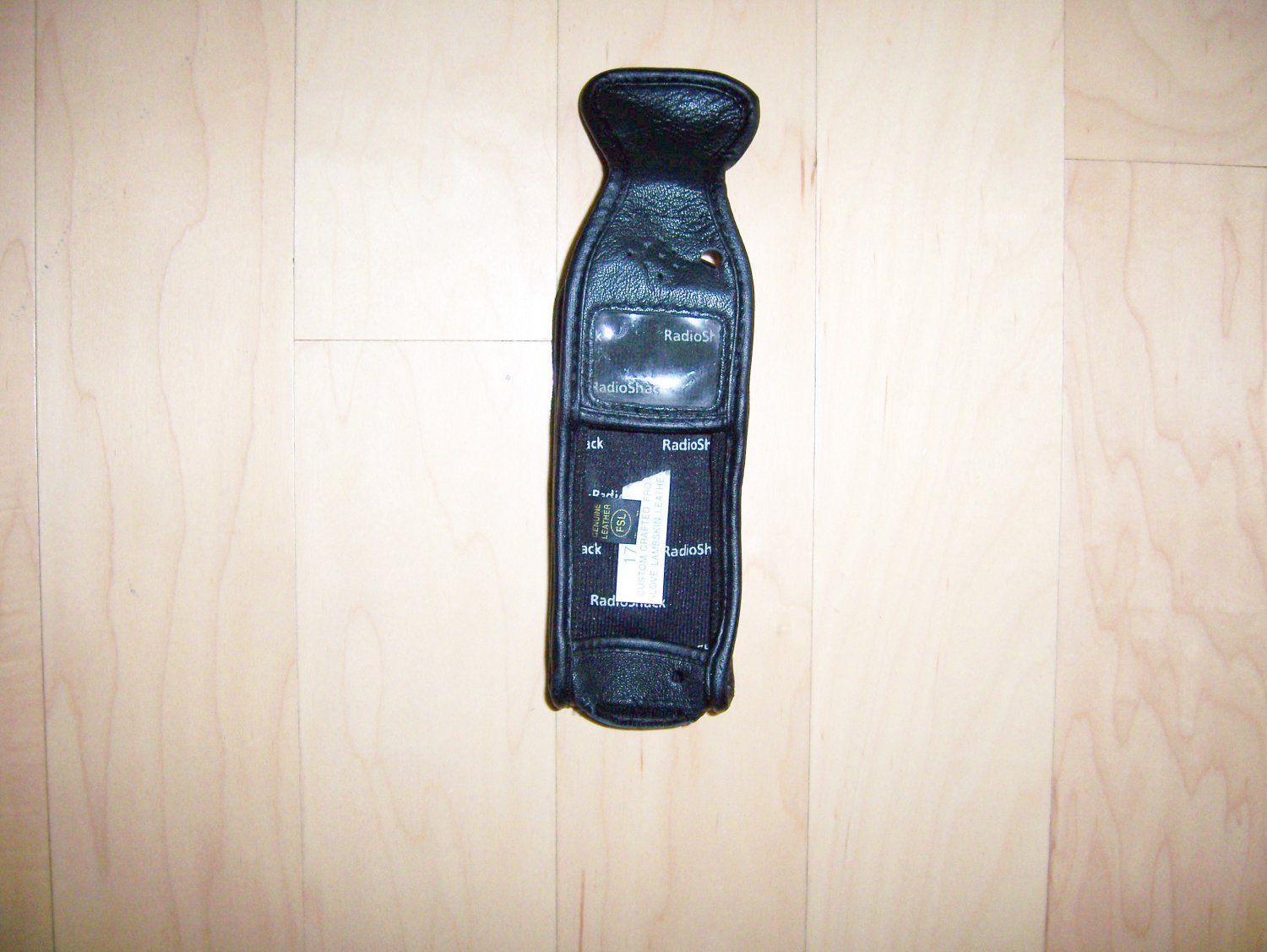 Cell Phone Holder Leather BY Radio Shack USA BNK1097