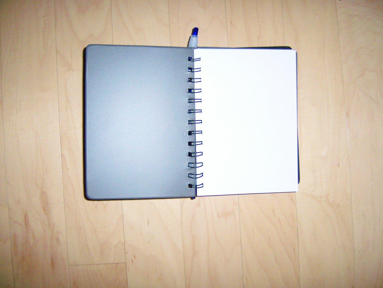 Black Leatherite Note Book W Pen  7x5  BNK1164