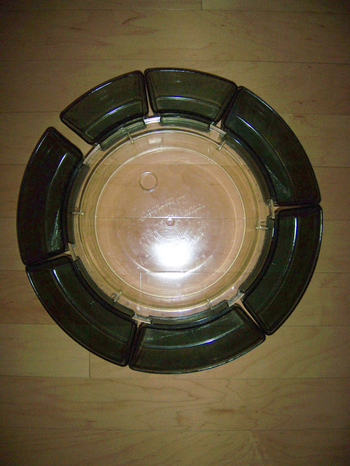 Lazy Susan With Middle Tray And 7 Hang On Bins  BNK1176