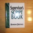 Supervisor's Script Book  BNK1318