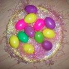Plate Of Twelve hollow Eggs  BNK1372