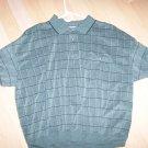 Men's polo Shirt XXL Greay Checked BNK1379