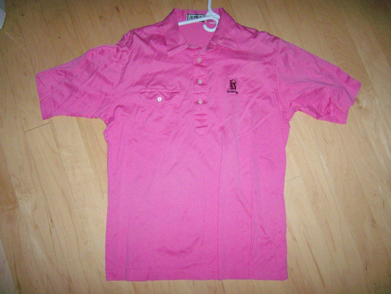 Men's Golf Shirt XXL By Aureus  Rose Color   BNK1392