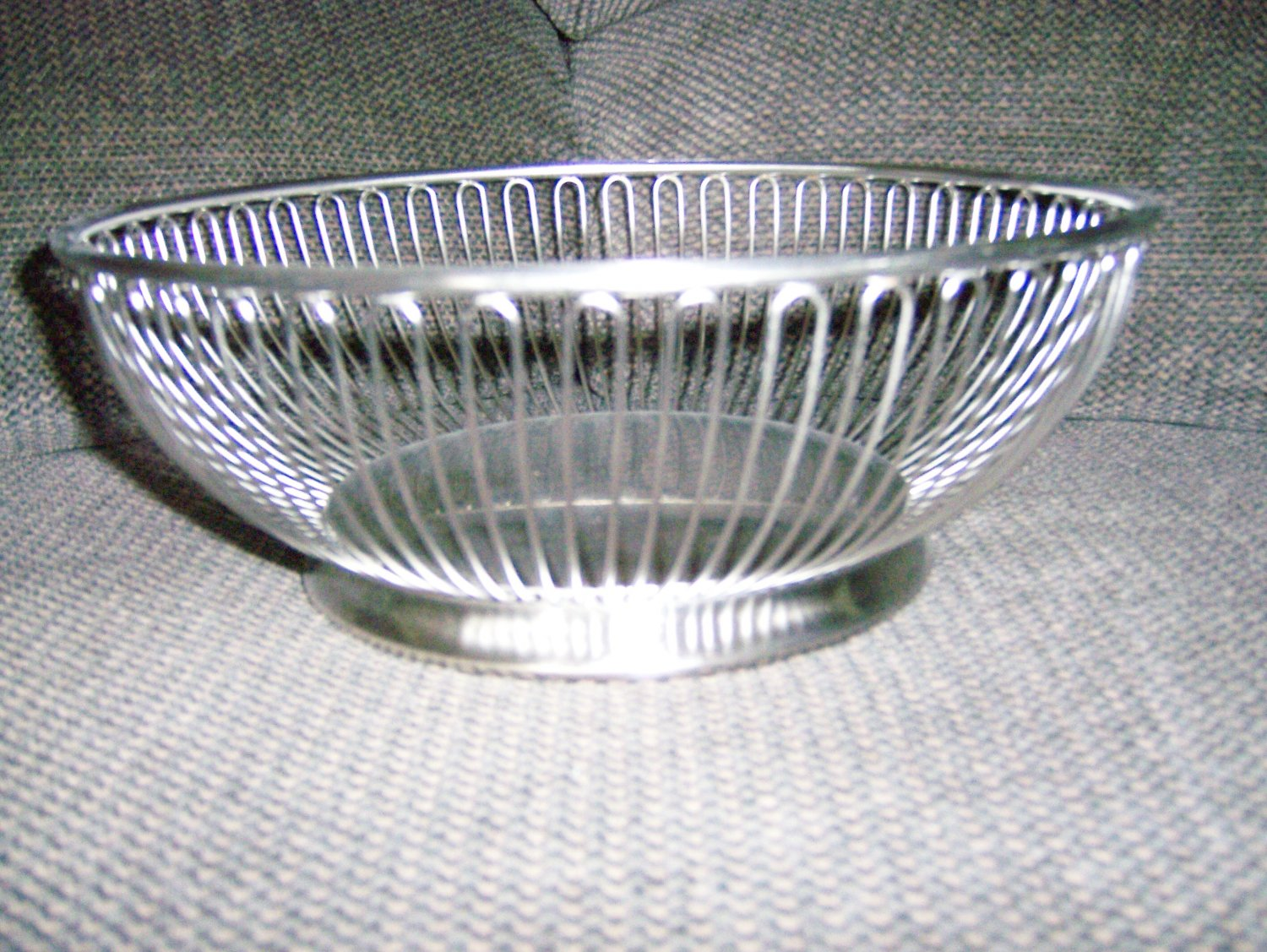 """Show Off Bowl 6""""Base 10"""" Top Stainless Steel BNK1421"""