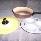 Three Egg Poacher Aluminum  BNK1422