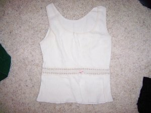 Camisole Rayon And Lace Size 34 BNK1429