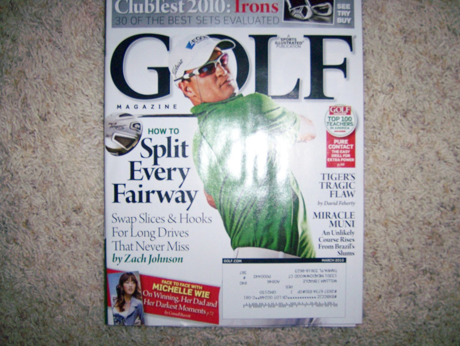 Golf Magazine  March 2010  BNK1459