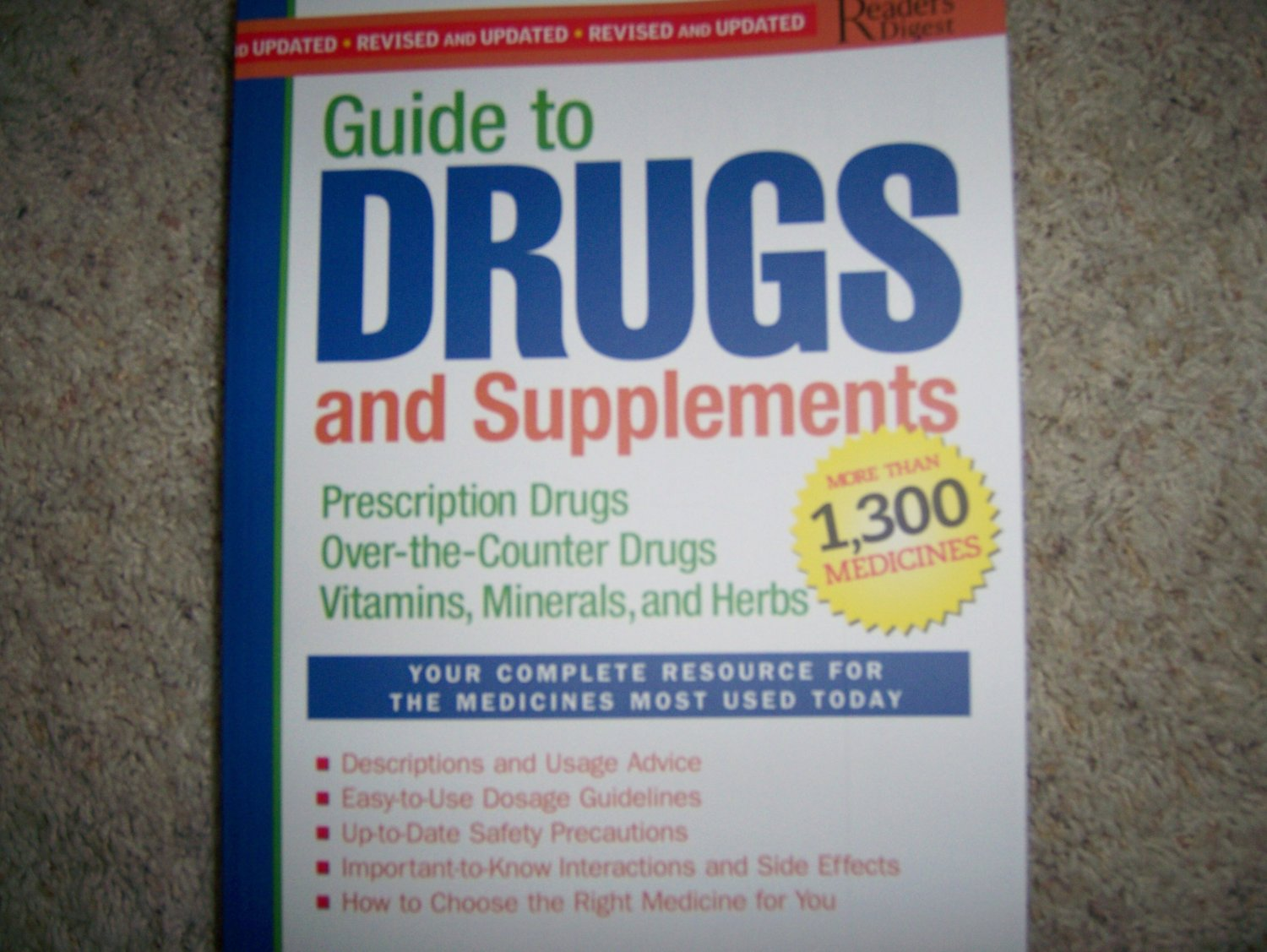 Guide To Drugs Book   BNK1496