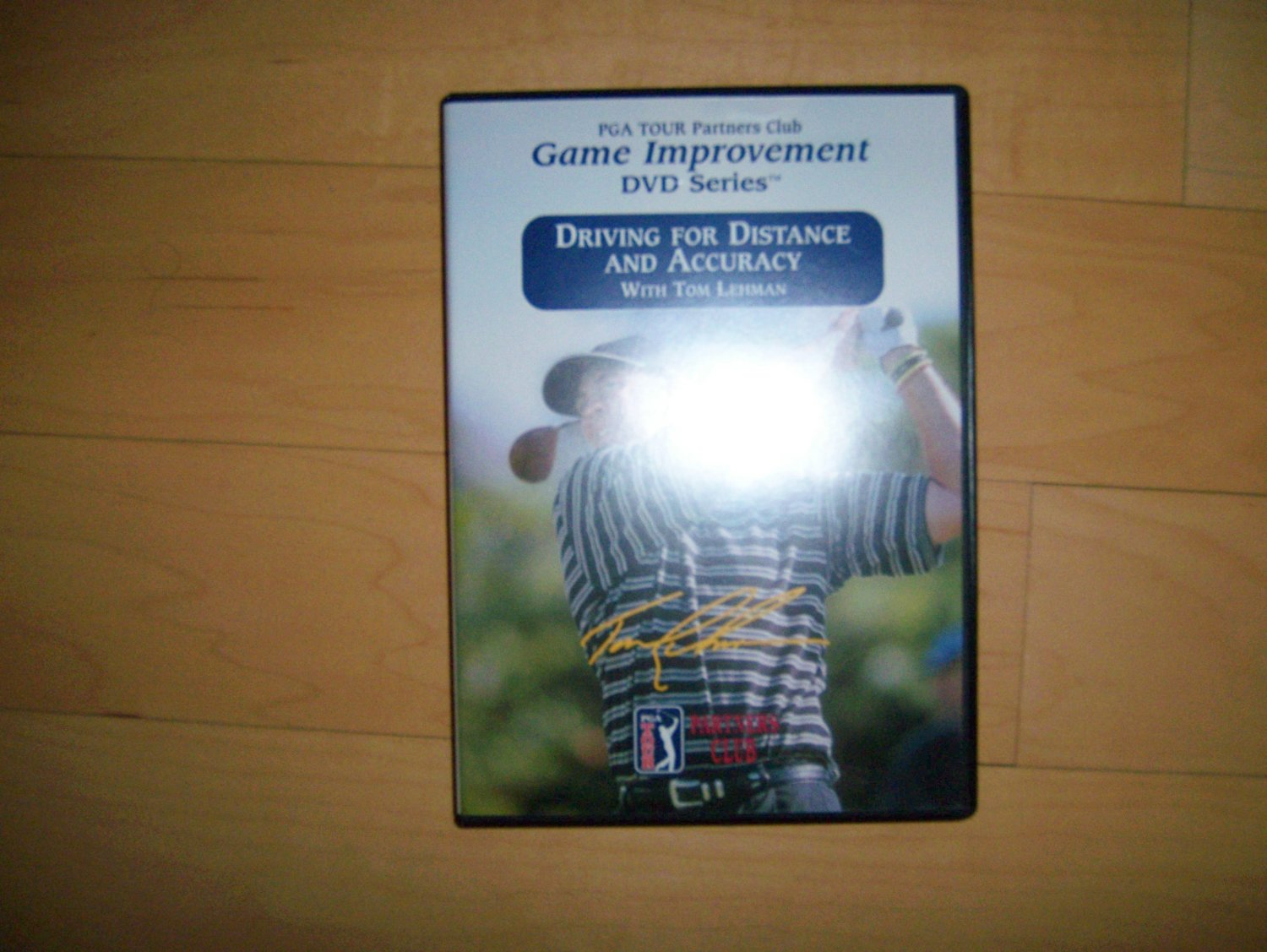 DVD PGA Tour Partners Club Driving For Distance And Accuracy Game Improvement  BNK1503
