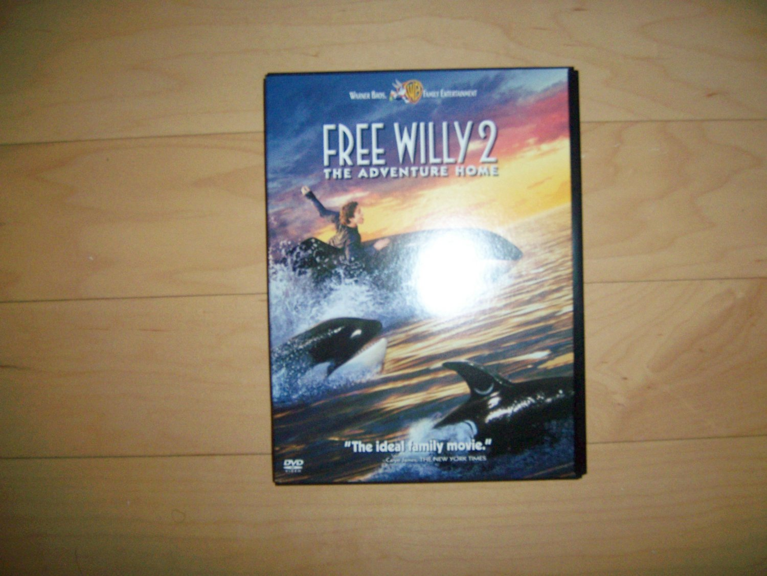 DVD Free Willy  By Warner Brothers  The Adventure Home BNK1504