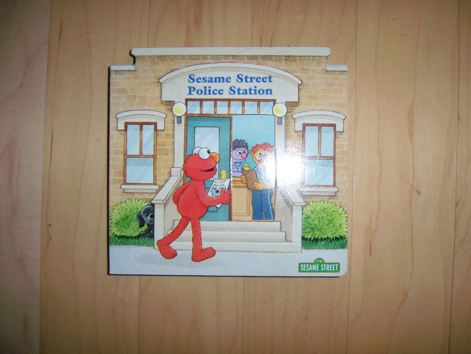 Sesame Street Police Staion BNK1515