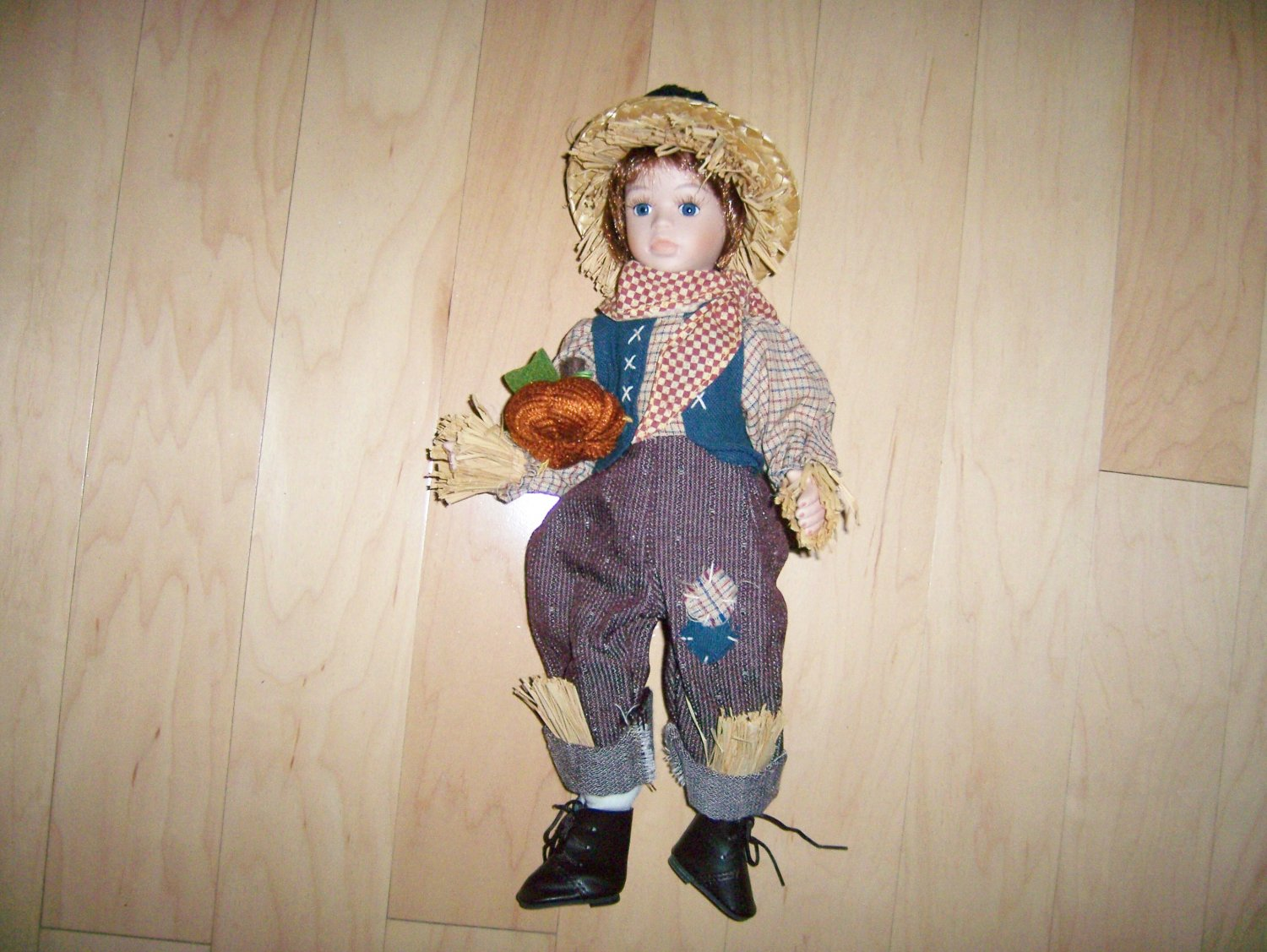 Cowboy Straw Boy Doll  BNK1521