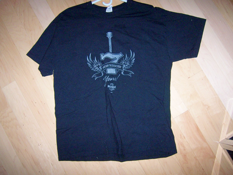 Hard Rock XL Black Shirt BNK1571