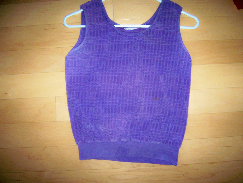 Ladies Tank Top Lilac Size 10  BNK1620
