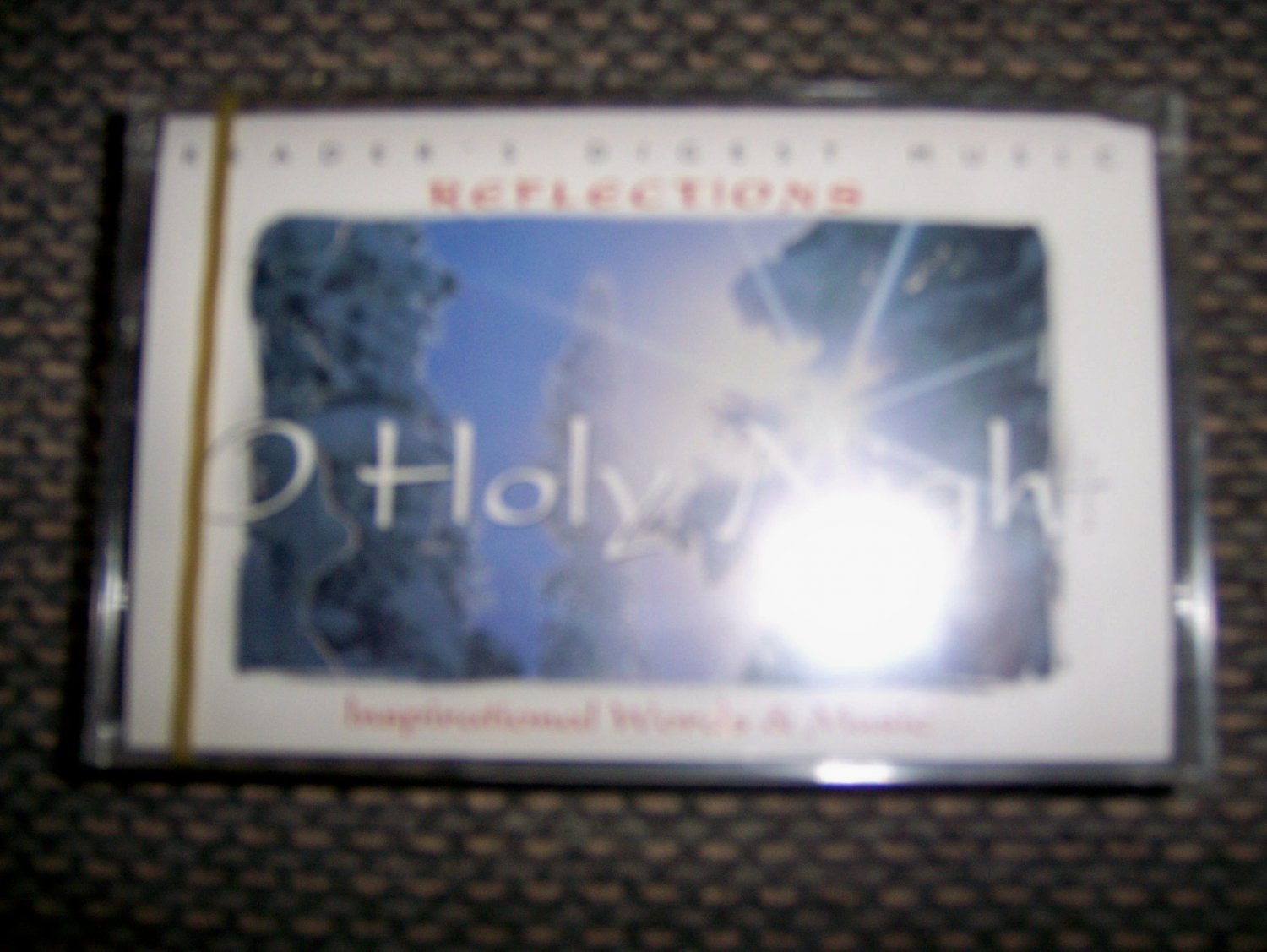 """Cassette Reflections Series """"O Holy Night"""" BNK1631"""