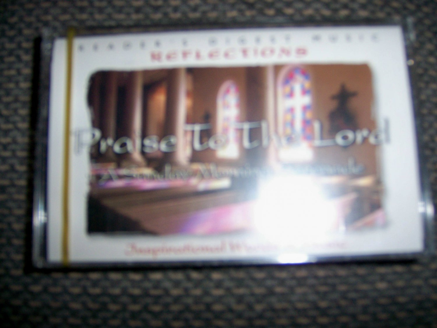 """Cassette Reflection Series """"Praise To The Lord"""" BNK1632"""
