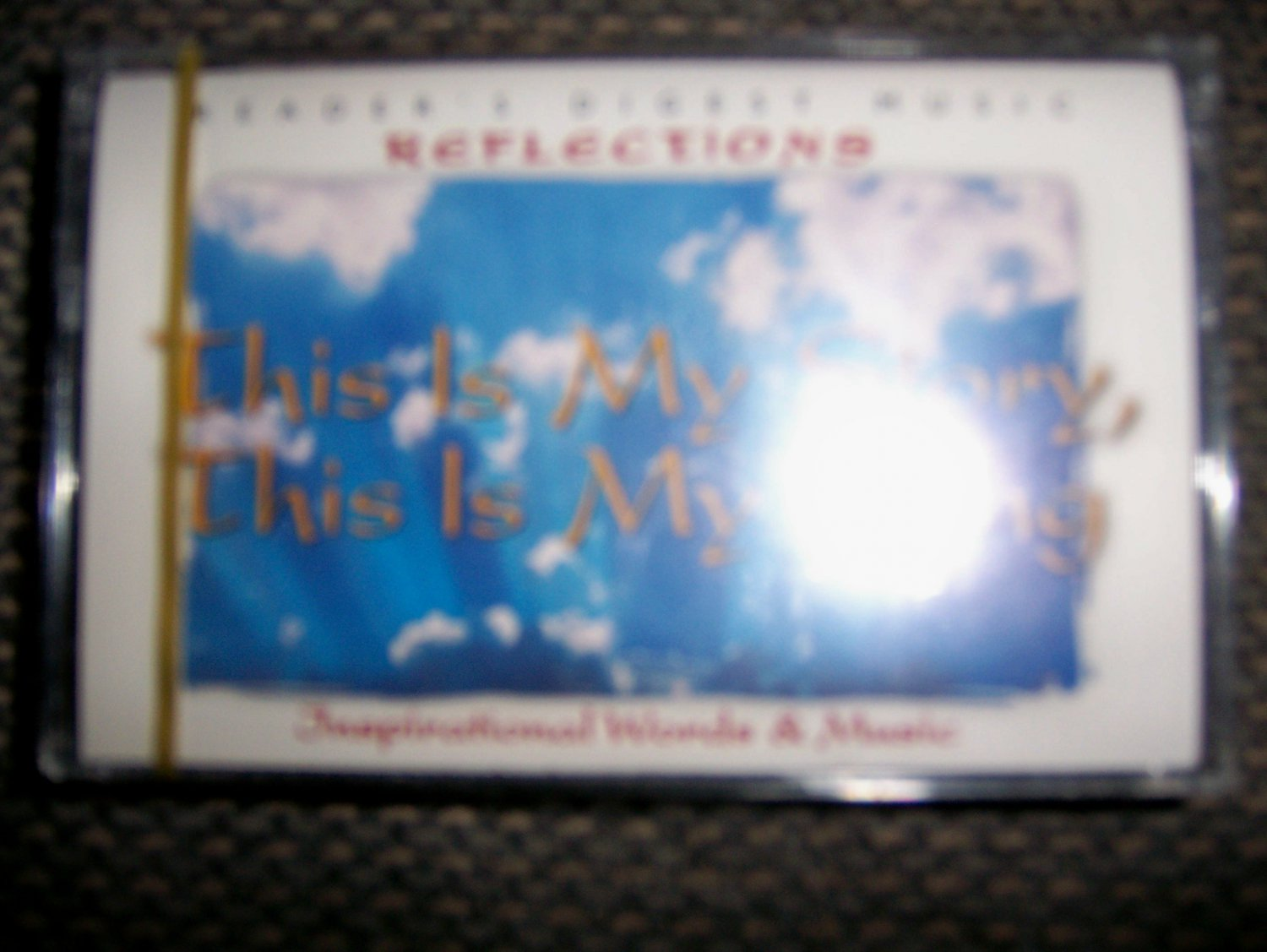 """Cassette Reflection Series """"This Is My Song This Is My Story"""" BNK1636"""