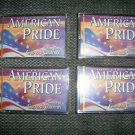 """Cassettes Set Of Four """"American Pride"""" BNK1654"""