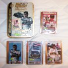 Dale Earnhardt Tin With Four Memorabil Cards  BNK1703