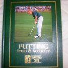 PGA Putting Speed And Accuracy From Game Improvement Series Hardcover Book BNK1749