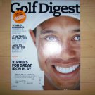 Golf Digest Magazine Jan 09 Tiger  BNK1817