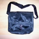 Black Simulated Leather PVC Messanger Bag/Purse Shoulder Type BNK1878
