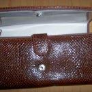Clutch Purse Brown Allegater Style  BNK1879