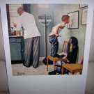 Norman Rockwell Print  Before The Shot  BNK1932