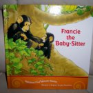 """""""Francie The Baby Sitter"""" Hardcover Book BNK2050"""