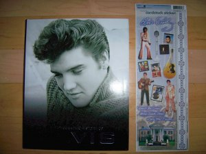 Elvis Book & Stickers  BNK2106