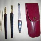 Nail Care Four Pc Set In Case BNK2224