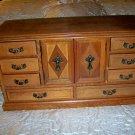 Jewelry Box Walnut Wood W 11 Drawers  BNK2252