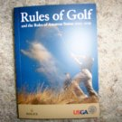 Rules Of Golf USGA For 2012 Thru 2015  BNK2254
