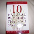 10 Natural Remedies That Can Save Your Life BNK2290