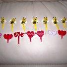 Set Of Fifeteen Valentine Decoration Sticks  BNK2353